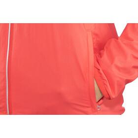 Icebreaker Rush Windbreaker Jacket Damen poppy red/embossed